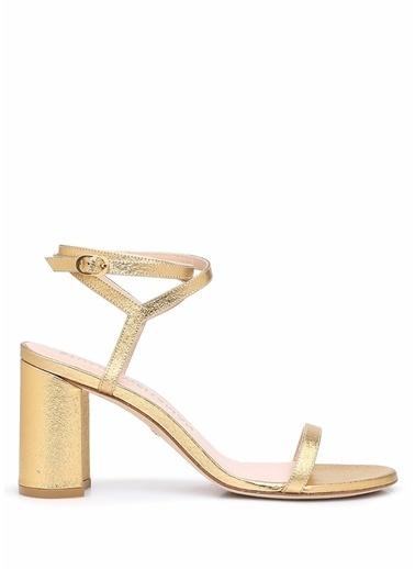 Stuart Weitzman Stuart Weitzman  Kadın Deri Sandalet 101522336 Altın